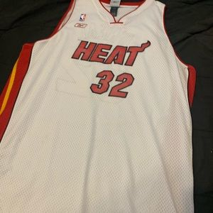 Shaquille O'Neal Miami Heat #32 Reebok Men's 4XL